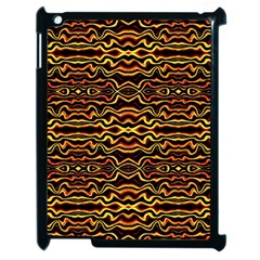 Tribal Art Abstract Pattern Apple Ipad 2 Case (black) by dflcprints