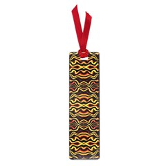 Tribal Art Abstract Pattern Small Bookmark