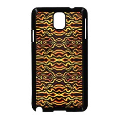 Tribal Art Abstract Pattern Samsung Galaxy Note 3 Neo Hardshell Case (black) by dflcprints