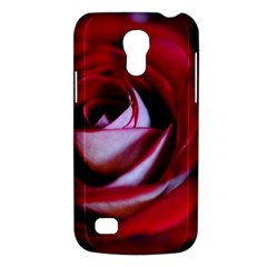 Red Rose Center Samsung Galaxy S4 Mini (gt I9190) Hardshell Case  by bloomingvinedesign