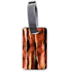 Bacon Luggage Tag (two Sides) by bloomingvinedesign