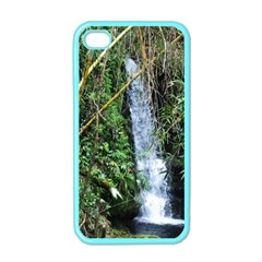 Bamboo Waterfall Apple Iphone 4 Case (color) by bloomingvinedesign