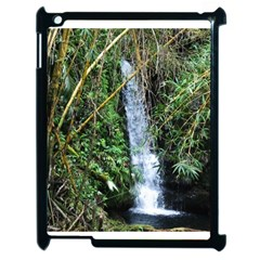 Bamboo Waterfall Apple Ipad 2 Case (black) by bloomingvinedesign