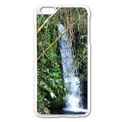 Bamboo Waterfall Apple Iphone 6 Plus Enamel White Case by bloomingvinedesign
