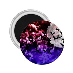 Bokeh Bats In Moonlight 2 25  Button Magnet by bloomingvinedesign