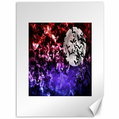 Bokeh Bats In Moonlight Canvas 36  X 48  (unframed) by bloomingvinedesign