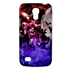 Bokeh Bats In Moonlight Samsung Galaxy S4 Mini (gt I9190) Hardshell Case  by bloomingvinedesign