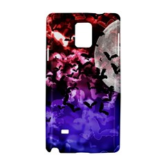 Bokeh Bats In Moonlight Samsung Galaxy Note 4 Hardshell Case by bloomingvinedesign