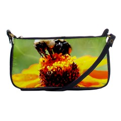 Bee On A Flower Evening Bag by bloomingvinedesign