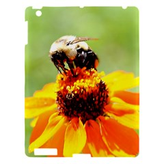 Bee On A Flower Apple Ipad 3/4 Hardshell Case by bloomingvinedesign