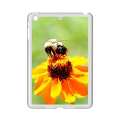 Bee On A Flower Apple Ipad Mini 2 Case (white) by bloomingvinedesign