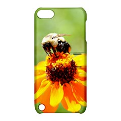 Bee On A Flower Apple Ipod Touch 5 Hardshell Case With Stand by bloomingvinedesign