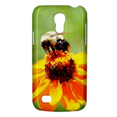 Bee On A Flower Samsung Galaxy S4 Mini (gt I9190) Hardshell Case  by bloomingvinedesign
