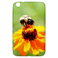 Bee On A Flower Samsung Galaxy Tab 3 (8 ) T3100 Hardshell Case  by bloomingvinedesign