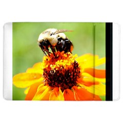 Bee On A Flower Apple Ipad Air 2 Flip Case by bloomingvinedesign