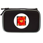 Colorful Abstract Hearts  NDS Lite Case