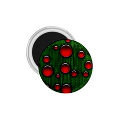 Geek Binary Digital Christmas 1 75  Button Magnet by bloomingvinedesign