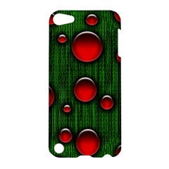 Geek Binary Digital Christmas Apple Ipod Touch 5 Hardshell Case by bloomingvinedesign