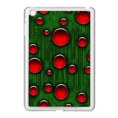 Geek Binary Digital Christmas Apple Ipad Mini Case (white) by bloomingvinedesign