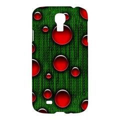Geek Binary Digital Christmas Samsung Galaxy S4 I9500/i9505 Hardshell Case by bloomingvinedesign
