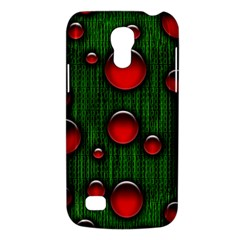 Geek Binary Digital Christmas Samsung Galaxy S4 Mini (gt I9190) Hardshell Case  by bloomingvinedesign