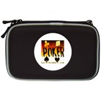 Flaming Poker Suited  NDS Lite Case