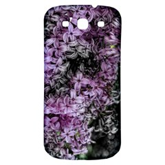 Lilacs Fade To Black And White Samsung Galaxy S3 S Iii Classic Hardshell Back Case by bloomingvinedesign