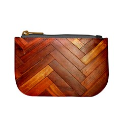 Wood11 Coin Change Purse by Curioddities