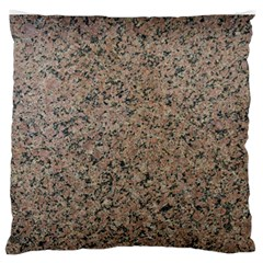 Granite Large Flano Cushion Case (one Side) by Curioddities