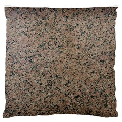 Granite Large Flano Cushion Case (two Sides) by Curioddities