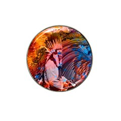 Astral Dreamtime Golf Ball Marker (for Hat Clip) by icarusismartdesigns