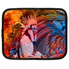 Astral Dreamtime Netbook Sleeve (xxl) by icarusismartdesigns