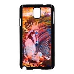 Astral Dreamtime Samsung Galaxy Note 3 Neo Hardshell Case (black) by icarusismartdesigns