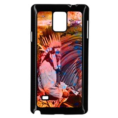 Astral Dreamtime Samsung Galaxy Note 4 Case (Black) by icarusismartdesigns