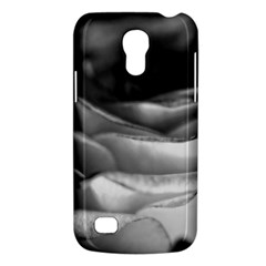 Light Black And White Rose Samsung Galaxy S4 Mini (gt I9190) Hardshell Case  by bloomingvinedesign