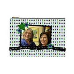 Bonnie Retirement Pouch Friend 2 By Connie Priesz   Cosmetic Bag (large)   Bwd7u871ywq1   Www Artscow Com Front