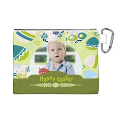 Easter By Easter   Canvas Cosmetic Bag (large)   I2fkfaba9aum   Www Artscow Com Back