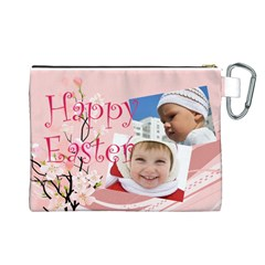 Easter By Easter   Canvas Cosmetic Bag (large)   Ch7qtdkijn8w   Www Artscow Com Back