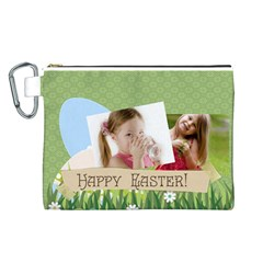 Easter By Easter   Canvas Cosmetic Bag (large)   Uoizwmtci0dw   Www Artscow Com Front