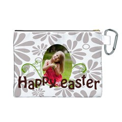 Easter By Easter   Canvas Cosmetic Bag (large)   21bk6owj9xgi   Www Artscow Com Back