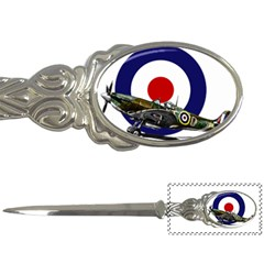 Spitfire And Roundel Letter Opener by TheManCave