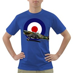 Spitfire And Roundel Men s T Shirt (colored) by TheManCave