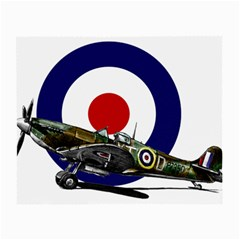 Spitfire And Roundel Glasses Cloth (Small) by TheManCave