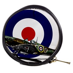 Spitfire And Roundel Mini Makeup Case by TheManCave