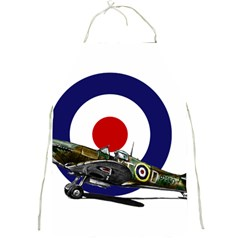 Spitfire And Roundel Apron by TheManCave
