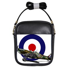 Spitfire And Roundel Girl s Sling Bag by TheManCave