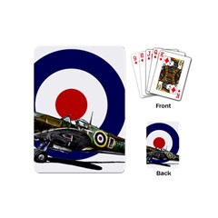 Spitfire And Roundel Playing Cards (Mini) by TheManCave