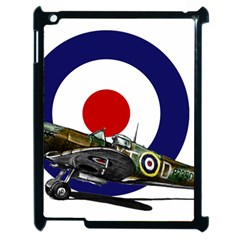 Spitfire And Roundel Apple Ipad 2 Case (black) by TheManCave