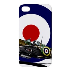 Spitfire And Roundel Apple iPhone 4/4S Hardshell Case by TheManCave