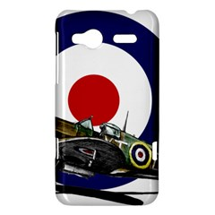 Spitfire And Roundel HTC Radar Hardshell Case  by TheManCave